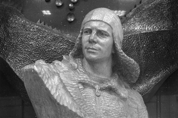 Баня Гагарина сгорела ночью в Звездном городке