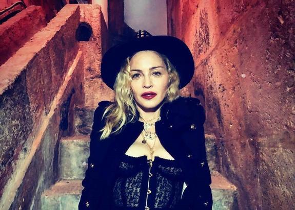 Певица Мадонна отмечает 60-летний юбилей