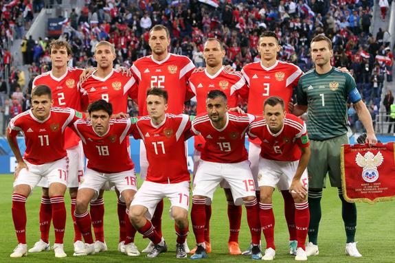 Сборная России поднялась на 21 позицию в рейтинге FIFA