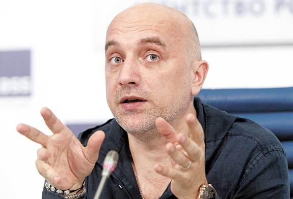 Украина включила  Прилепина в список лиц, угрожающих нацбезопасности страны