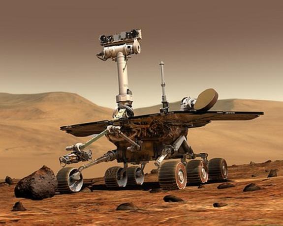 Марсоход Curiosity нашел интересный объект