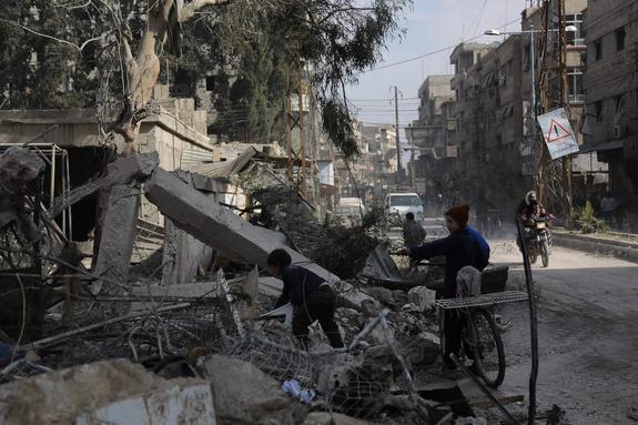 СМИ: США составили список целей для вероятного удара по Сирии