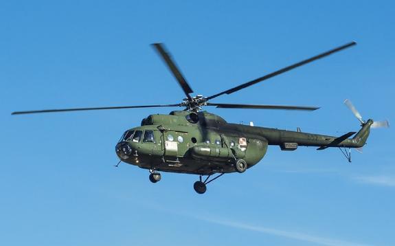 В Иркутской области пропал вертолет Ми-8 с людьми на борту