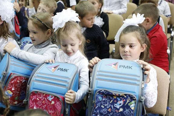 РМК собрала в школу порядка 800 учеников