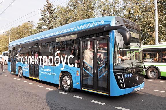 Электробусы на линии