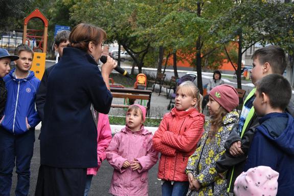 В Центральном районе прогремел большой праздник в честь нового двора