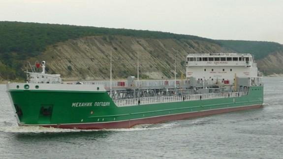 Экипаж задержанного на Украине танкера «Механик Погодин» вернулся в Россию