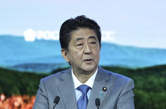 Синдзо Абэ подтвердил позицию Японии по мирному договору с РФ