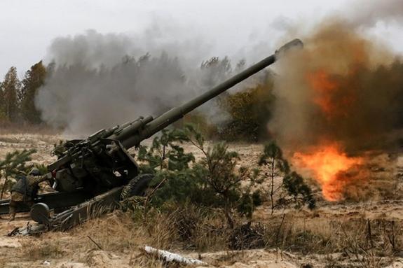 ДНР: Киев стягивает артиллерию к Мариуполю