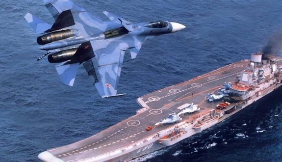 Началась модернизация авианосца «Адмирал Кузнецов»
