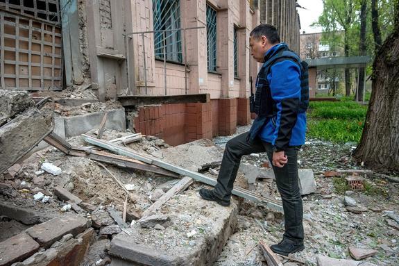Украинские журналисты проникли на Донбасс