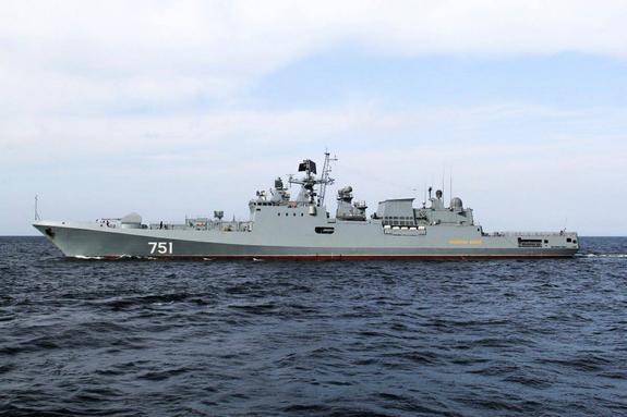 Фрегат «Адмирал Эссен» побывал с визитом в порту Мессины