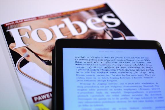 Рейтинг Forbes по США впервые за 20 с лишним лет претерпел изменения
