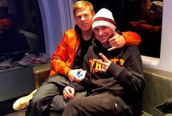 Полиция задержала младшего брата Александра Кокорина