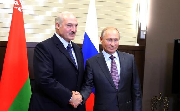 Путин на встрече с Лукашенко признался, что был восхищен красотой Могилева