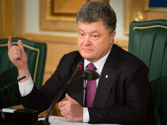 Украина готова отразить «агрессию» России на Азове, заявил Порошенко