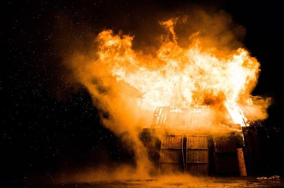 При пожаре на базе отдыха под Нижним Новгородом без вести пропал ребенок