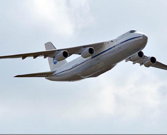 Французский самолет не пустили в воздушное пространство России