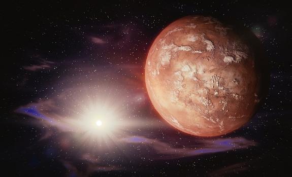 """Уфологи обнаружили на Марсе """"парящие"""" камни"""