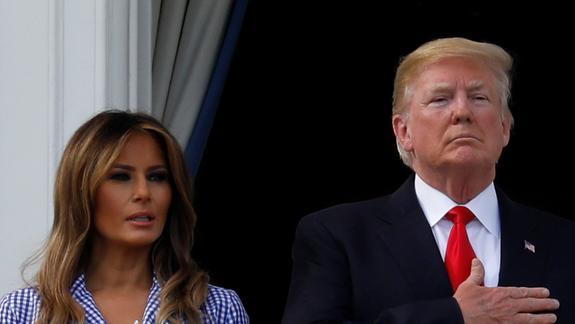 """Трамп признался, что быть его женой """"не так уж легко"""""""