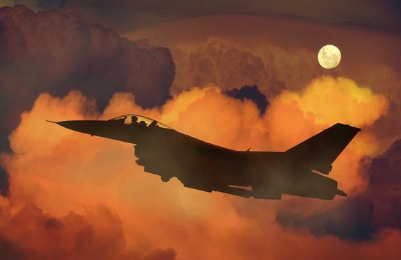 Самолет-разведчик ВВС США заметили у российских границ