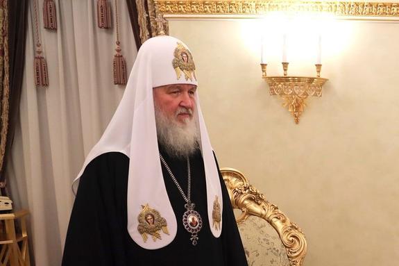 Патриарх Кирилл выступил с проповедью в  день Казанской иконы Божией матери