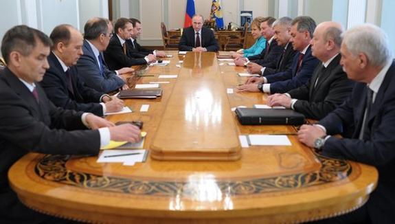 Путин обсудил с Совбезом РФ санкции США против Ирана