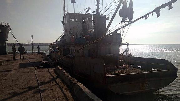 На Украине  не состоялась продажа российского судна «Норд»