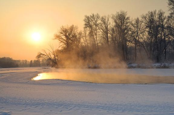 В ночь на субботу в Подмосковье зафиксирован мороз минус 22,2 градуса