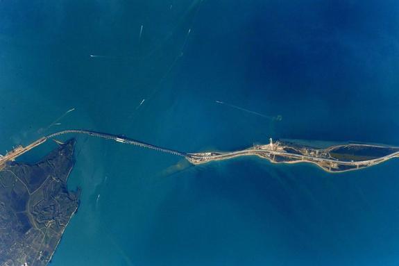 ВКерченском проливе произошло столкновение двух кораблей