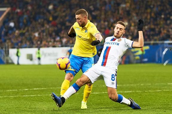 «Ростов» — «ЦСКА»: боевая ничья 0:0