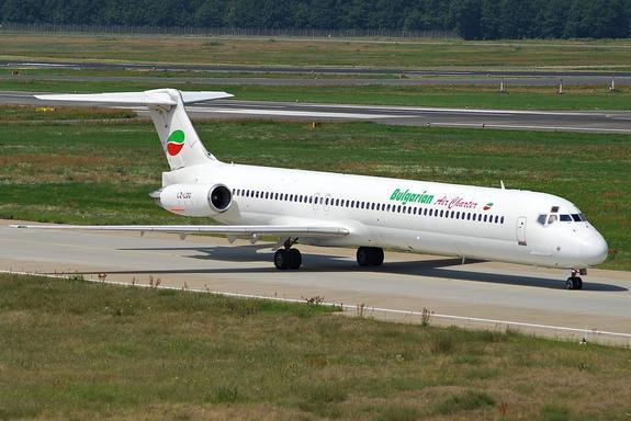 Болгария отменила авиарейсы на Украину из-за военного положения