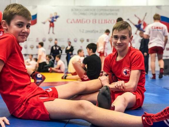 В Москве прошли Всероссийские соревнования по самбо среди школьников