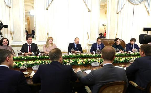 Алексей Комиссаров рассказал о конкурсе «Лидеры России»
