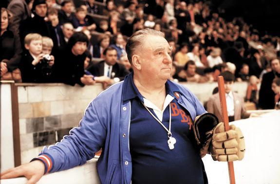 Вековой юбилей великого мэтра нашего хоккея