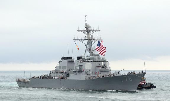 США отправляют флот в Черное море в контексте инцидента в Керченском проливе