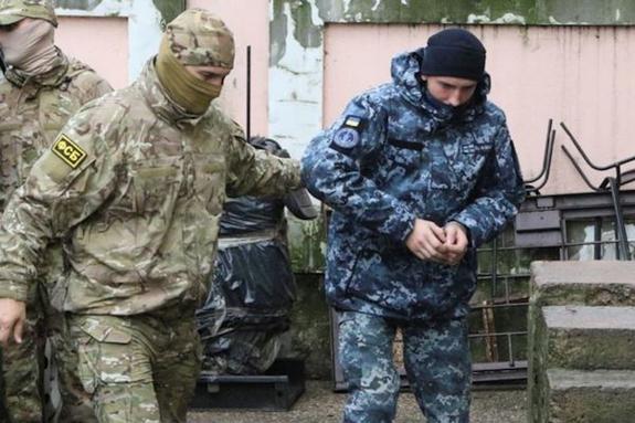 Сдавшимся в плен у Керченского пролива морякам выплатят по 100 тыс гривен