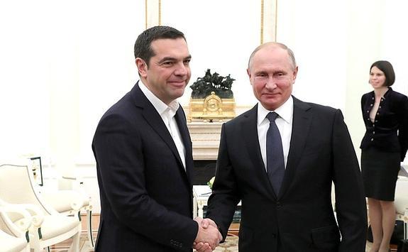 Путин: Россия не оставит  Грецию без российского газа