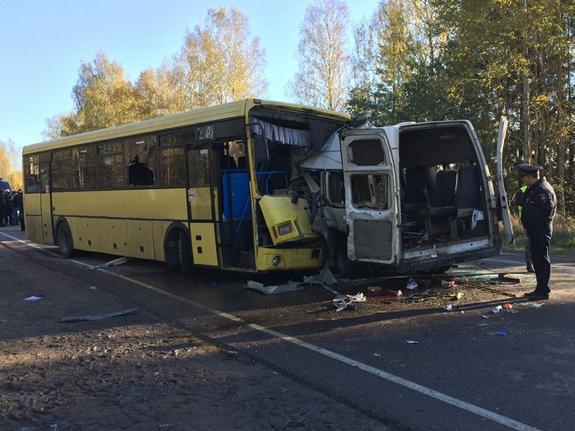 Автобус сбил пенсионерку на переходе в Химках