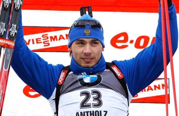 Биатлонист Шипулин трогательно поблагодарил болельщиков за поддержку