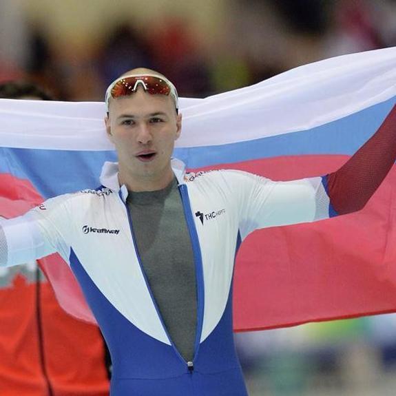 Российский конькобежец установил новый мировой рекорд