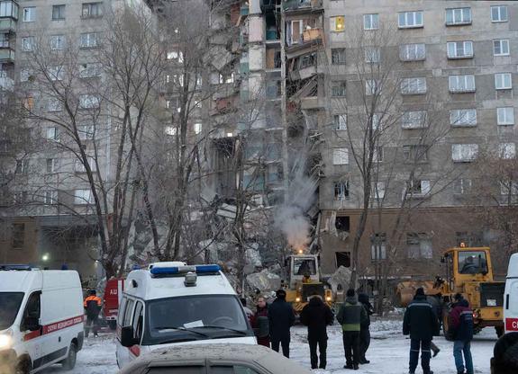В Магнитогорске приступили к демонтажу поврежденных при взрыве подъездов