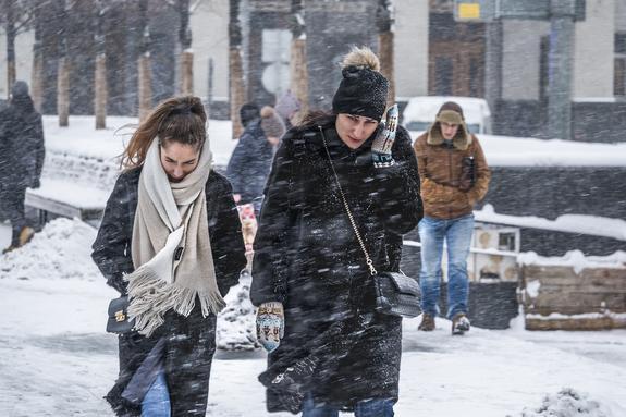 ЦОДД предупредил москвичей об ухудшении дорожных условий