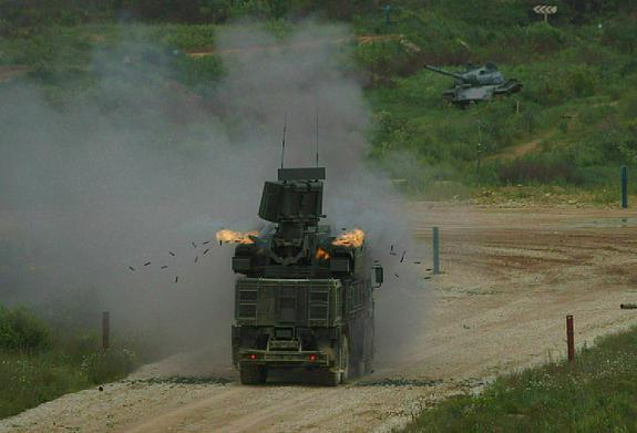 Сирийские ПВО смогли отразить массированный авиаудар Израиля по Дамаску