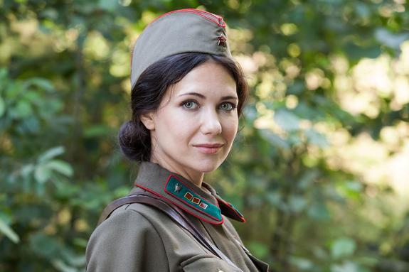 Актриса Екатерина Климова заслужила воинское звание
