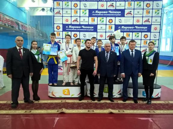 В Кирово-Чепецке прошло два турнира по дзюдо