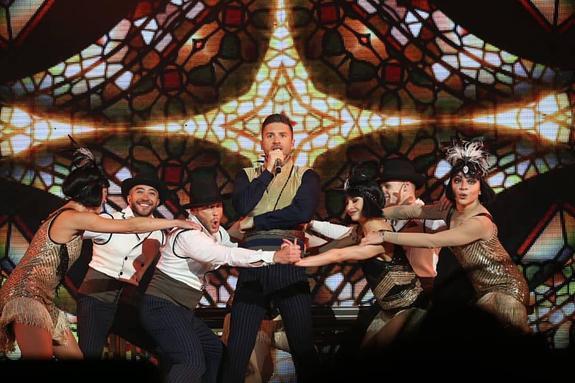 Лазарев рассказал о своих целях на Евровидении