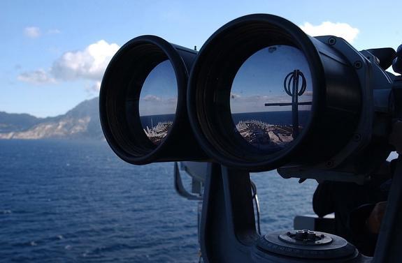 Американские корабли прошли через зону, которую Китай считает своими водами
