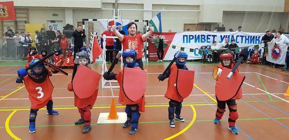 В Москве сразились на мечах