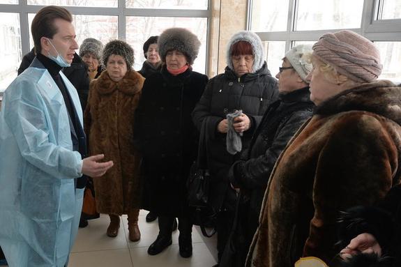 Владимир Бурматов проконтролирует сроки реконструкции челябинской поликлиники